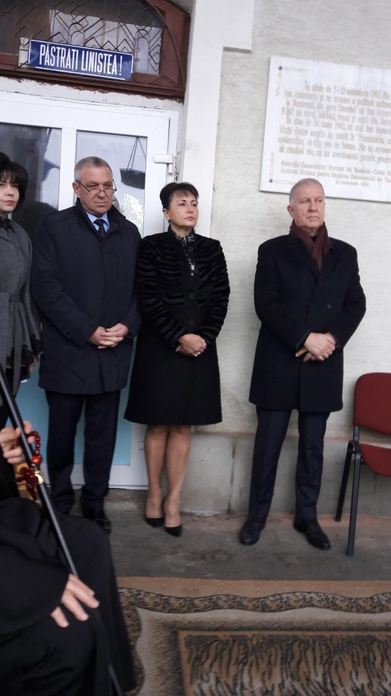 """Președintele CJ Botoșani: """"Holocaustul este o problemă a tuturor"""" FOTO"""