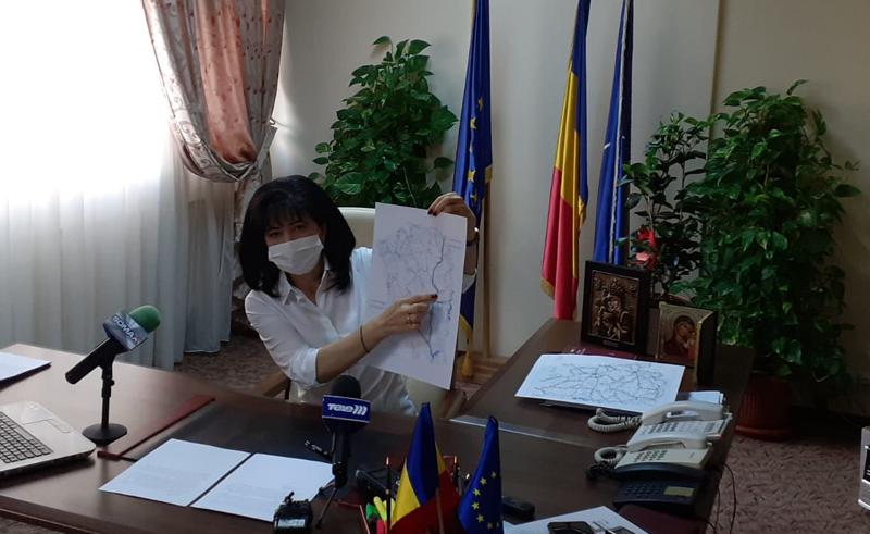 Președintele CJ Doina Federovici e sigură de Drumul Strategic