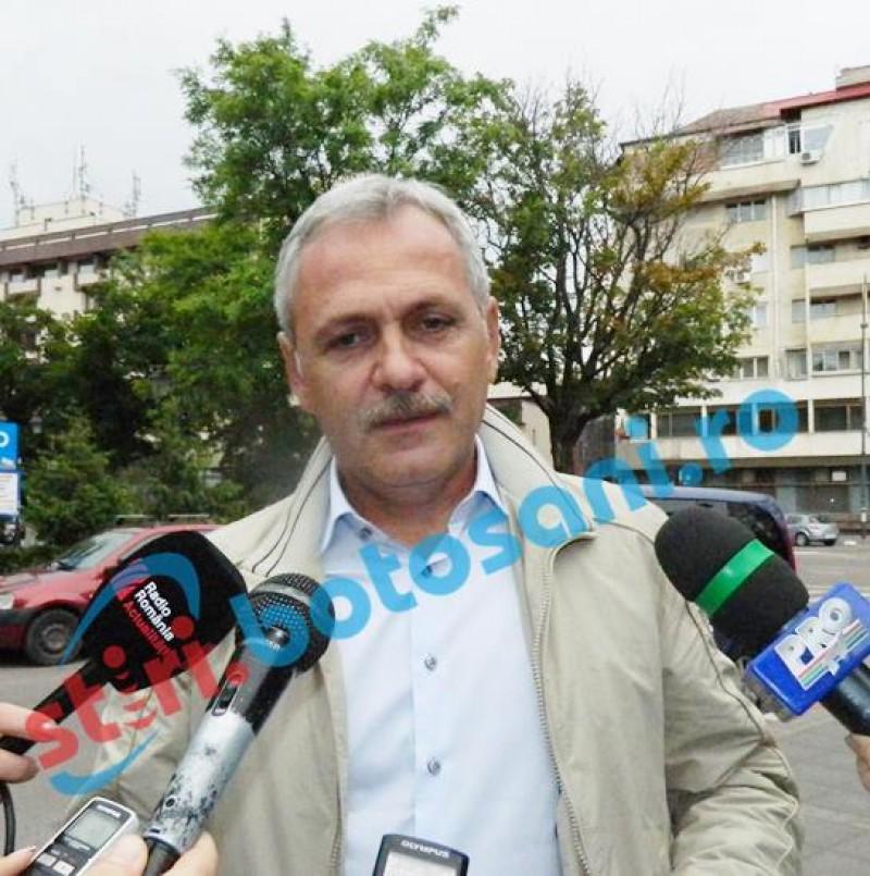 Preşedintele PSD, Liviu Dragnea, turneu prin Moldova. Ar urma să ajungă şi la Botoşani