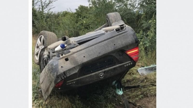Președintele Republicii Moldova, implicat într-un accident rutier. Igor Dodon este internat în spital - VIDEO