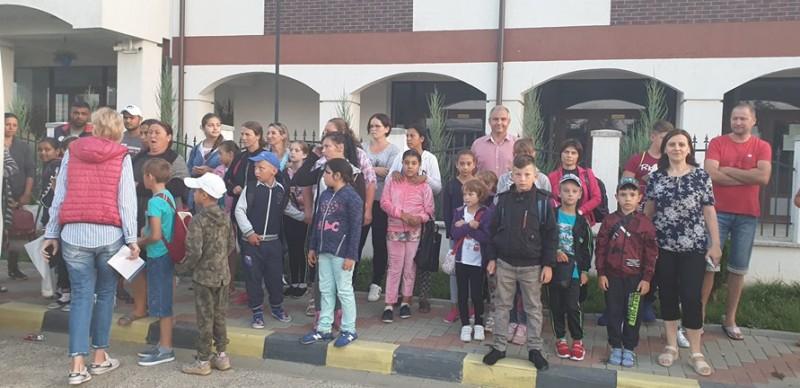 Prima tabără pentru 26 de copii din Ștefănești!