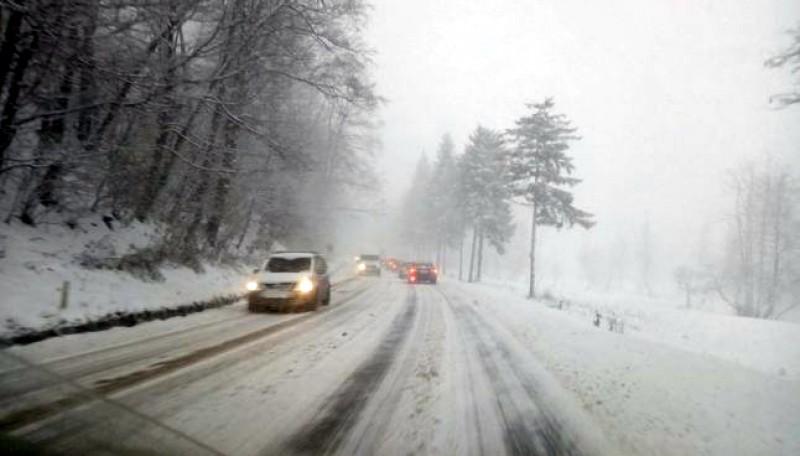 Prima zi de iarnă autentică la Botoșani