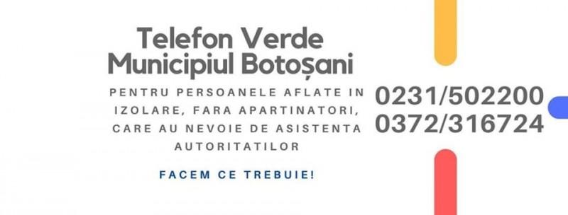 Primăria Botoșani întocmește lista persoanelor peste 65 de ani care au nevoie de ajutor