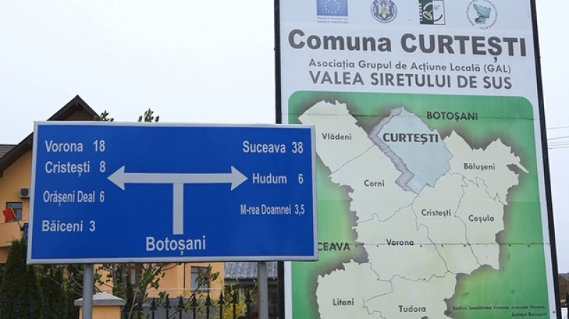 Primăria Curtești extinde rețeaua de gaz în localitățile Hudum, Mănăstirea Doamnei și Agafton