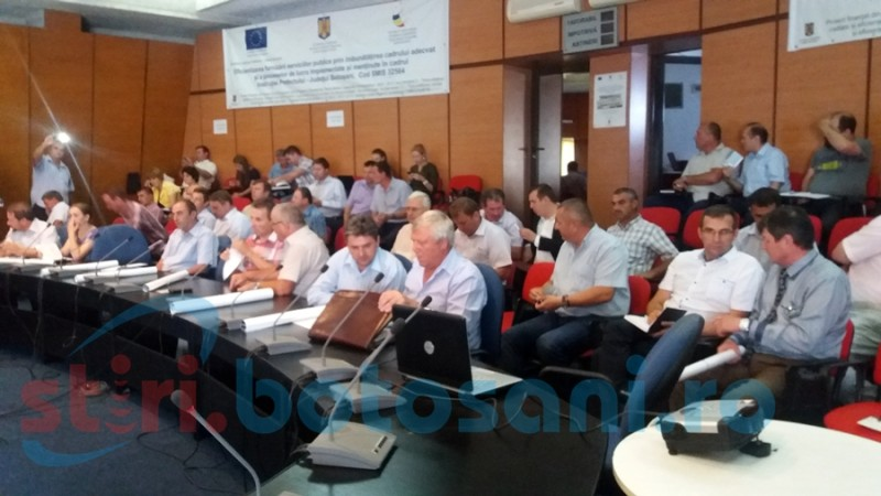 Primarii comunelor din județ dovedesc interes pentru noul PNDR