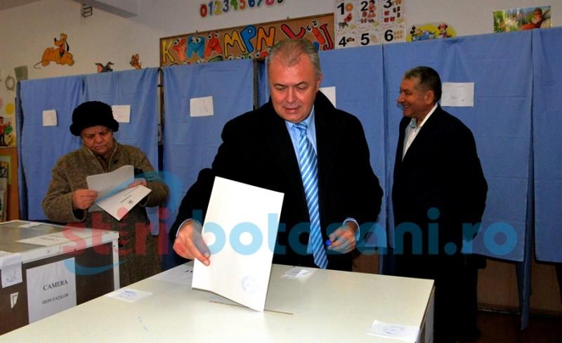 """Primarul Cătălin Flutur: """"Am votat pentru ca Botoșaniul să meargă înainte"""" - FOTO"""