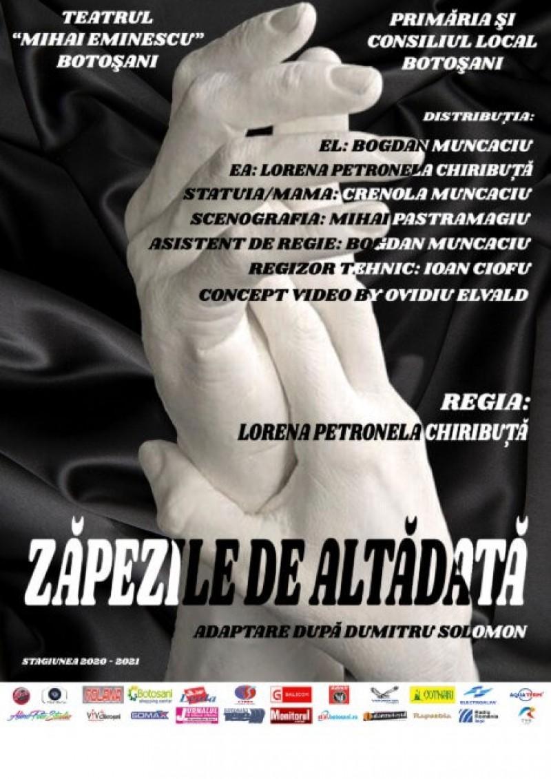 """Primele spectacole din acest an, oferite de actorii Teatrului """"Mihai Eminescu"""", vor avea loc în acest weekend"""