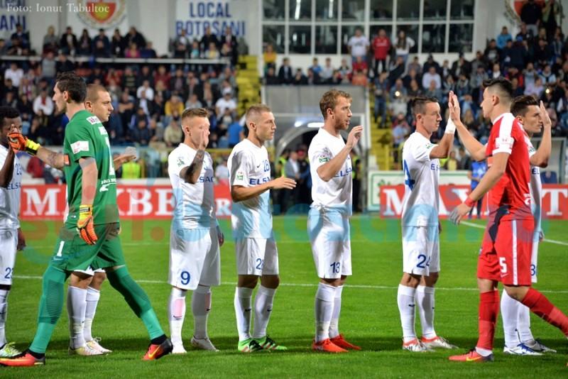 Primele transferuri realizate de FC Botosani! Botosanenii au adus un portar si un mijlocas!