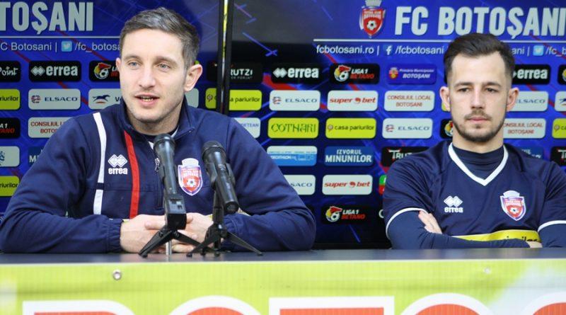 Primul meci al FC Botoşani în Play-out- luni, pe Municipal