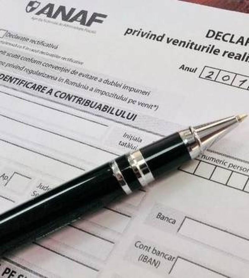 Principalele declaratii fiscale ar putea fi depuse, obligatoriu, doar pe Internet