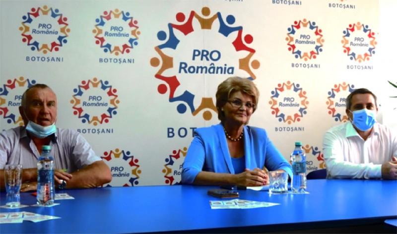 Pro România și-a anunțat candidații la funcția de primar în două comune din județ