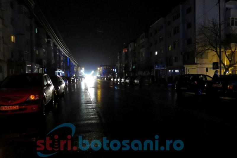 Problema iluminatului public din Botoşani: Ședinţă la Primărie cu reprezentanţii E.on