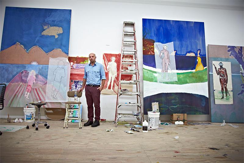 Procesul care va intra in istorie: Un artist britanic trebuie sa dovedeasca in instanta ca NU este autorul unei picturi