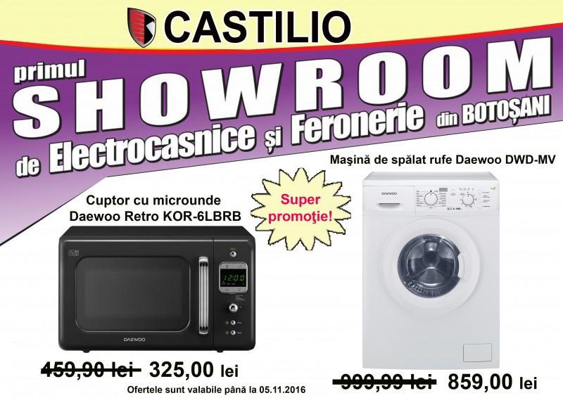 Produse şi branduri noi în oferta Showroom-ului de Electrocasnice şi Feronerie Castilio