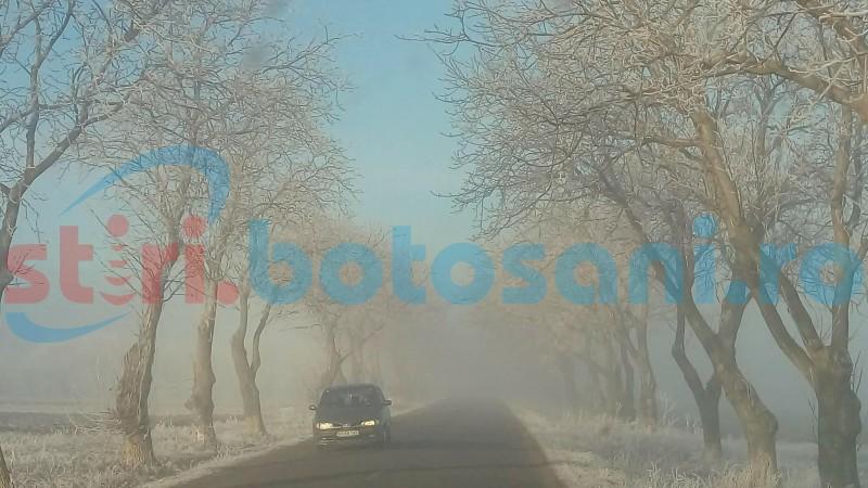 Prognoza meteo: Încă trei zile de iarnă atipică
