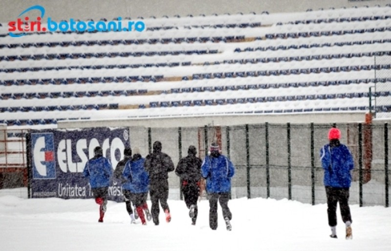 PROGRAMUL celor de la FC Botosani, pana la finalul anului! Pe 18 decembrie se va juca ultimul meci!