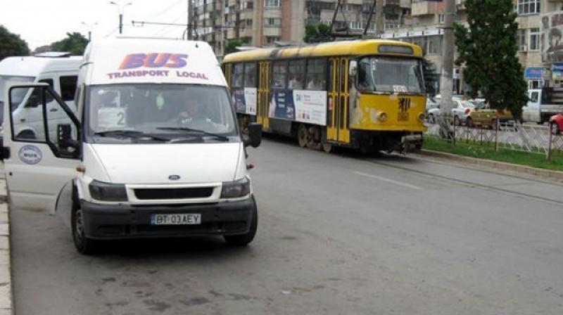 Programul de circulație a tramvaielor și microbuzelor din Botoșani a fost modificat