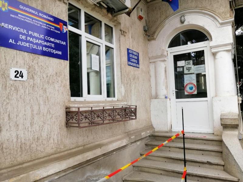Programul de funcționare a Serviciului de Pașapoarte. Punctul de lucru din Dorohoi rămâne închis până la toamnă