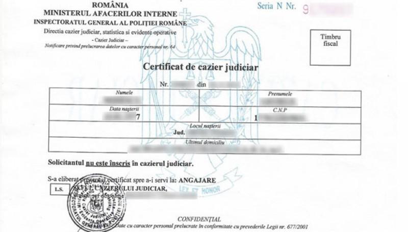 Programul de lucru cu publicul la ghișeul de eliberări certificate de cazier judiciar în această perioadă