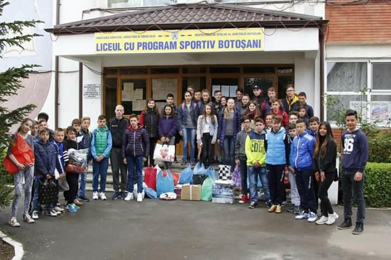 Proiect de educație ecologică şi colectare selectivă a deșeurilor la Liceul cu Program Sportiv Botoșani