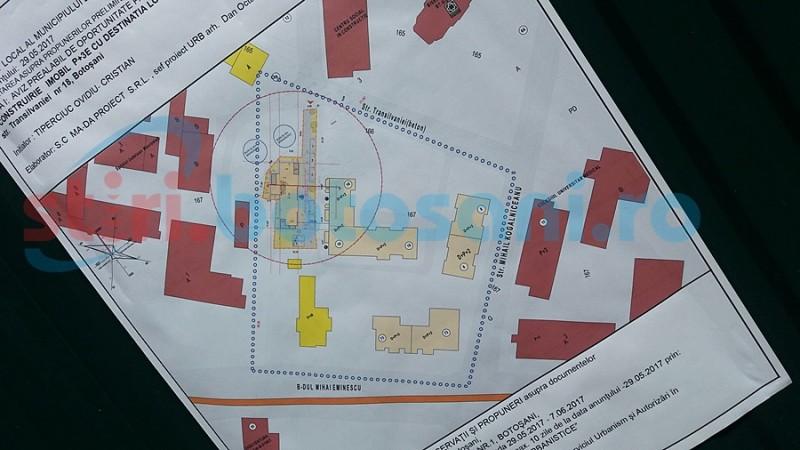 Proiect imobiliar în mijlocul municipiului Botoşani
