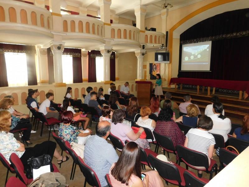 Proiect pentru tinerii botoșăneni, la Colegiul Național A.T. Laurian!
