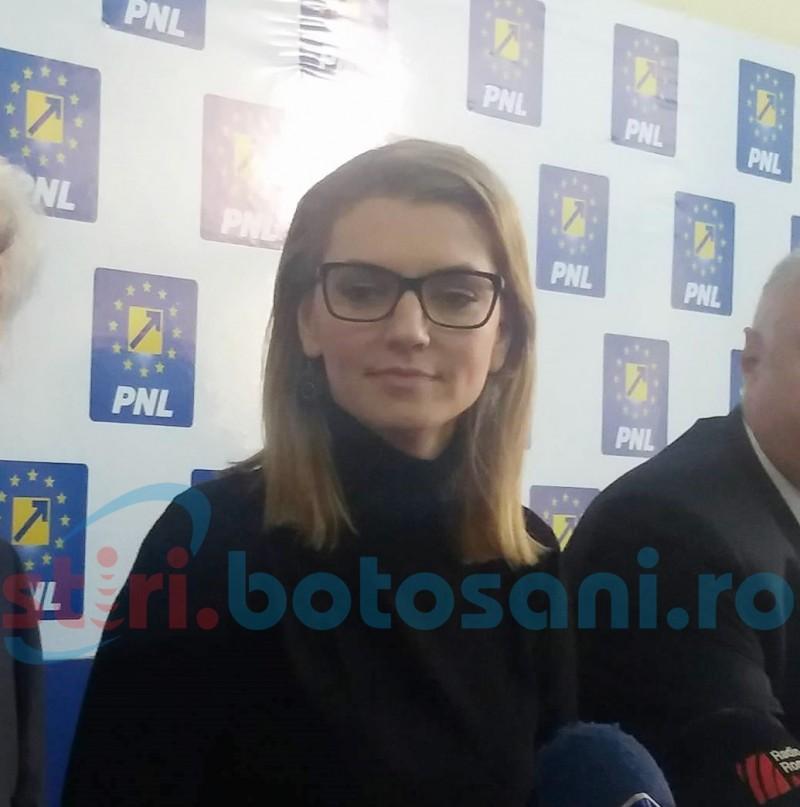 Promisiune făcută de Alina Gorghiu privind drumul Botoșani-Tg. Frumos