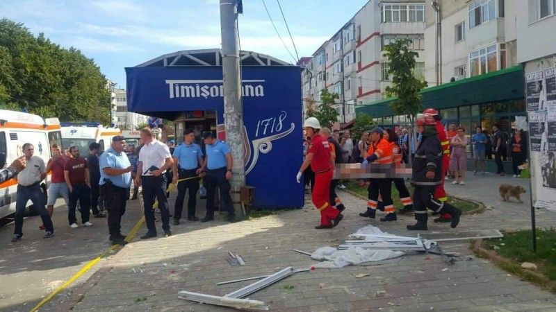 Proprietarul apartamentului în care a avut loc explozia nu poate fi transferat în centre de arşi