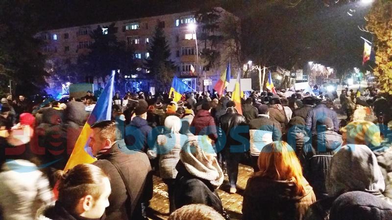 PROTEST: Botoșănenii s-au mobilizat și au ieșit în stradă! FOTO, VIDEO