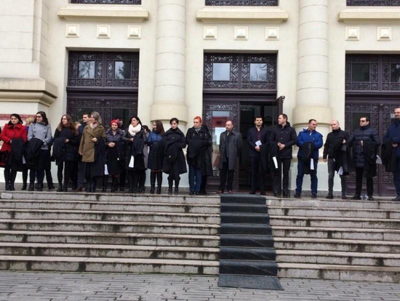 PSD reacționează la protestul magistraților: Nu au dreptul să protesteze!