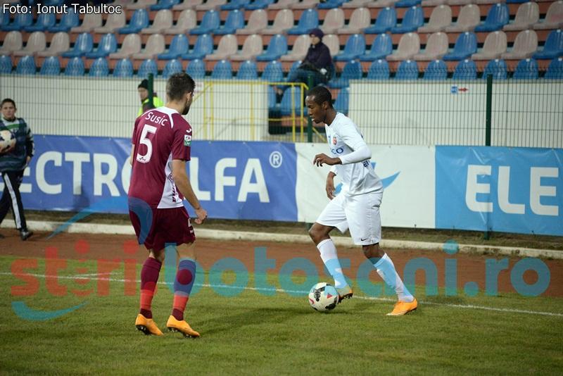 Quenten Martinus, cel mai amendat jucator de la FC Botosani!
