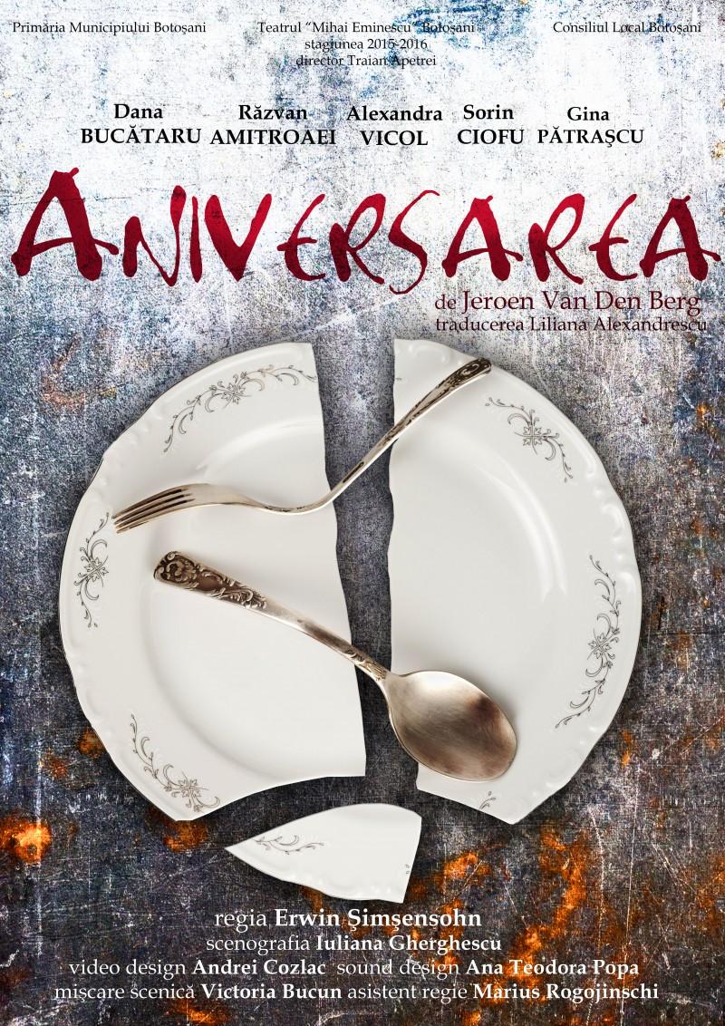 """""""Aniversarea"""" și """"Bocitoarele vesele"""", în acest weekend la Teatrul Eminescu!"""