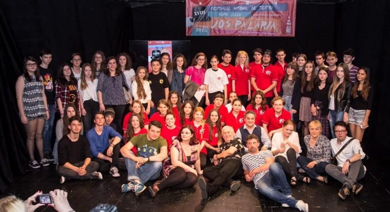 """""""Atelierul de teatru"""", din Botoşani, a triumfat la Festivalul de Teatru pentru Liceeni """"Jos Pălăria""""!"""