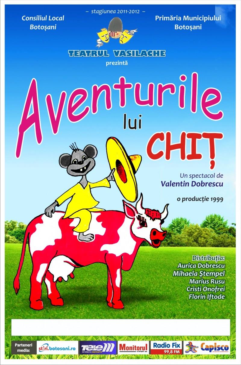 """""""Aventurile lui Chiţ"""", la Teatrul Vasilache!"""