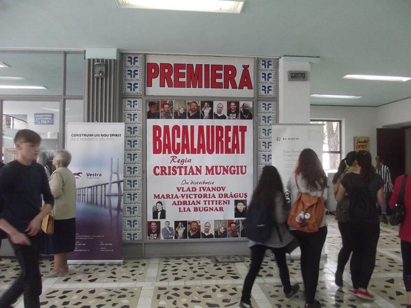 """""""Bacalaureat"""" cu sute de elevi la Cinema Unirea! Vlad Ivanov: """"Nu trebuie să trăiţi vieţile părinţilor voştri"""""""