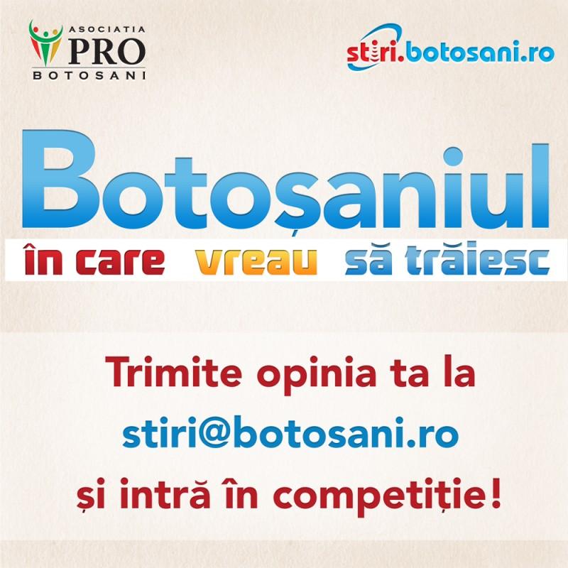 """""""Botoşaniul - administrat local sau pe axa Botoşani-Suceava"""", in dezbaterea elevilor!"""