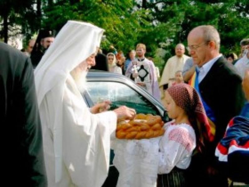 """""""Comunitatea din Stăuceni se mândreşte cu personalitatea patriarhului Teoctist"""""""