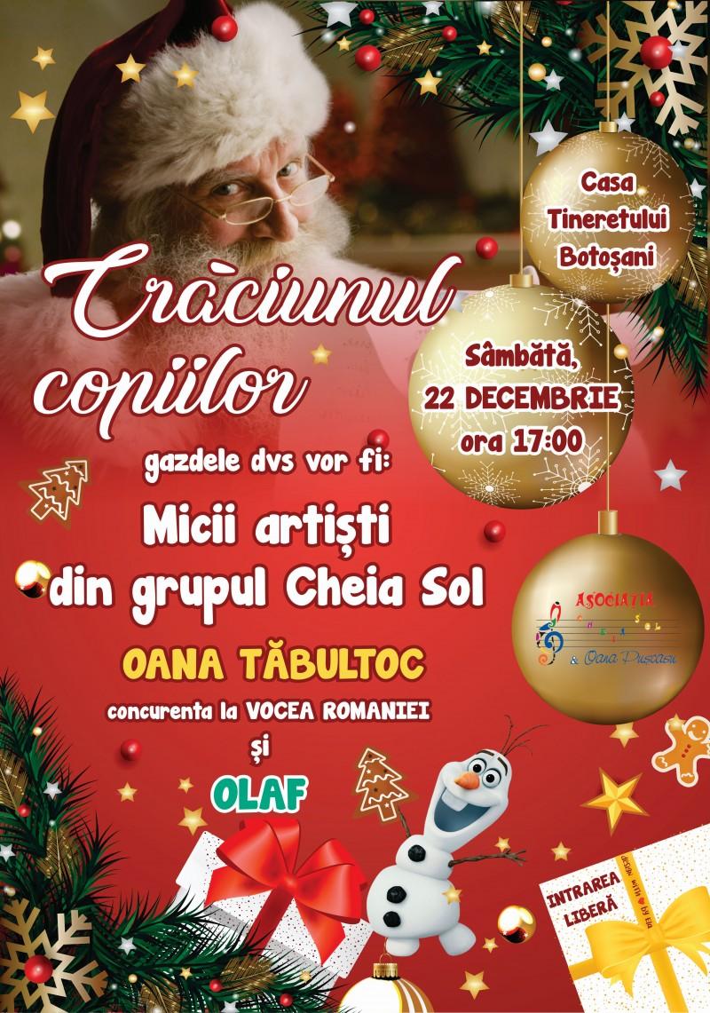 """Crăciunul Copiilor"" cu Cheia Sol"