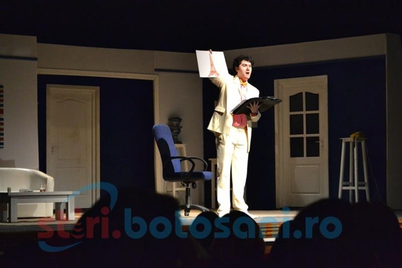 """""""Dineu cu proşti"""", un spectacol de tot râsul, pe scena Teatrului Eminescu! FOTO"""