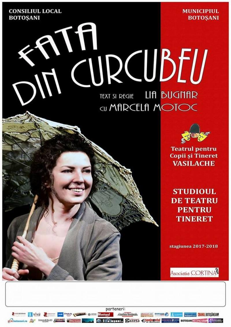 """""""Fata din Curcubeu"""", în premieră pe scena Teatrului pentru Copii și Tineret Vasilache Botoșani!"""