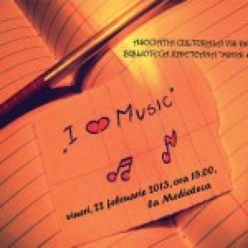 """""""I love music"""", vineri, la Mediateca"""