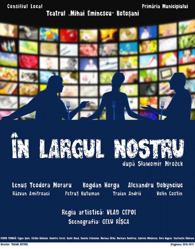 """""""În largul nostru"""", premieră la Teatrul Eminescu!"""