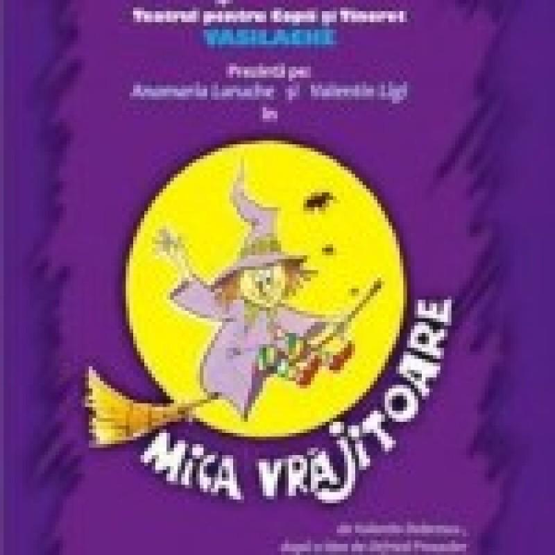 """""""Mica vrajitoare"""" vine, duminica, la Teatrul Vasilache"""