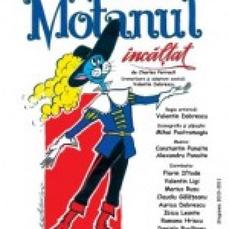 """""""Motanul incaltat"""" vine, duminica, la Teatrul """"Vasilache"""""""