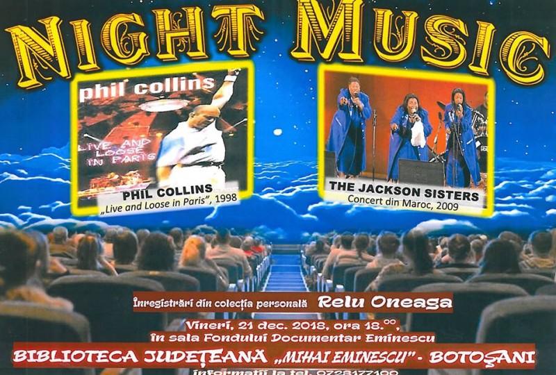 """""""Night Music"""" în întâmpinarea sărbătorilor"""