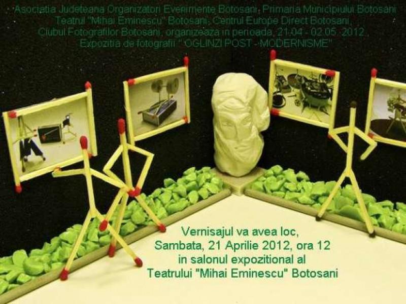 """Oglinzile post - modernisme"", la Teatrul Mihai Eminescu Botosani"