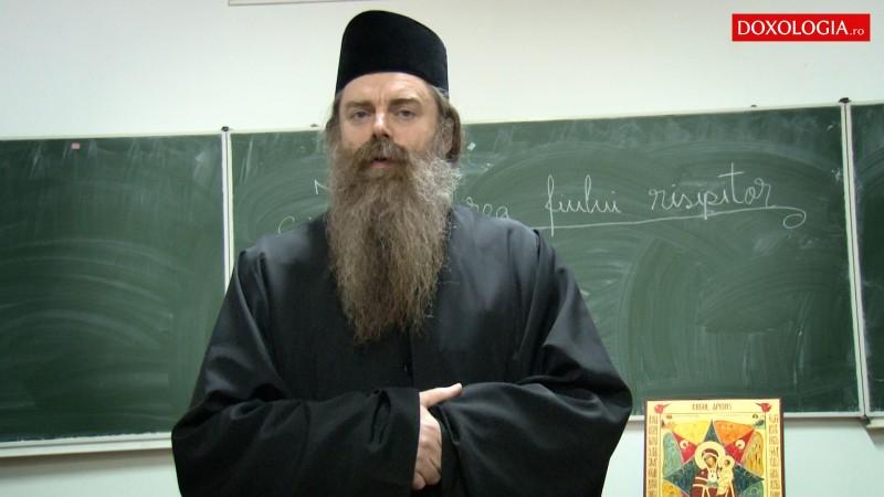"""""""Postul, exercițiu pentru libertate"""", conferința susținută de Arhimandrit Nicodim Petre la Biserica Vovidenia Botoșani!"""