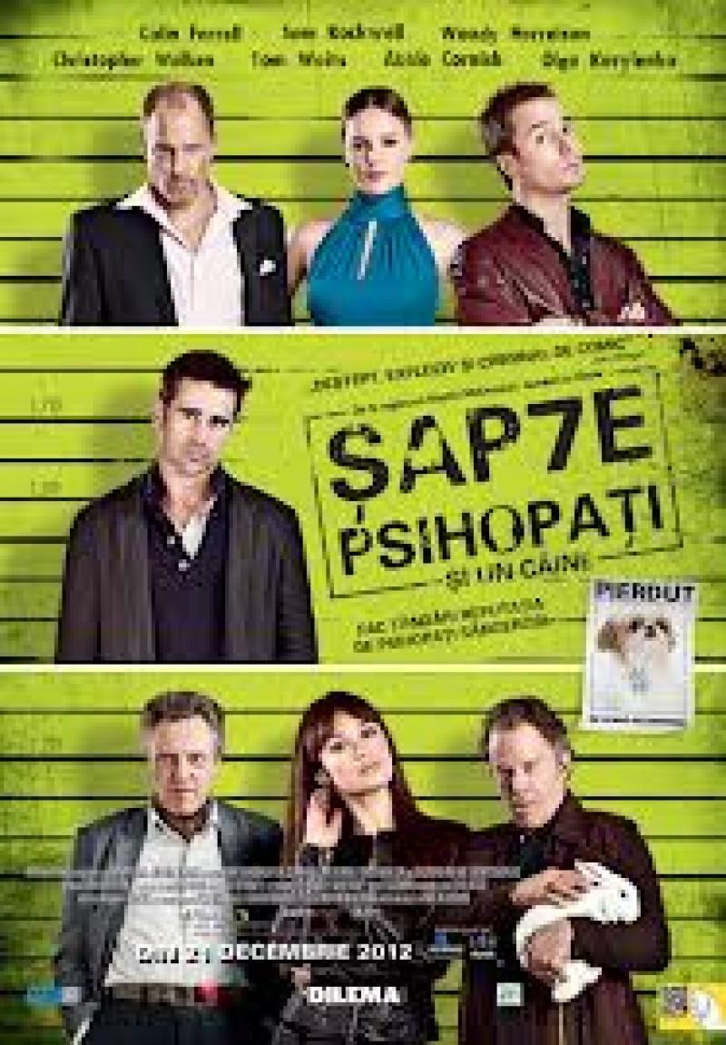 """""""Şapte psihopaţi şi un câine"""", la Cinema Unirea VIDEO"""