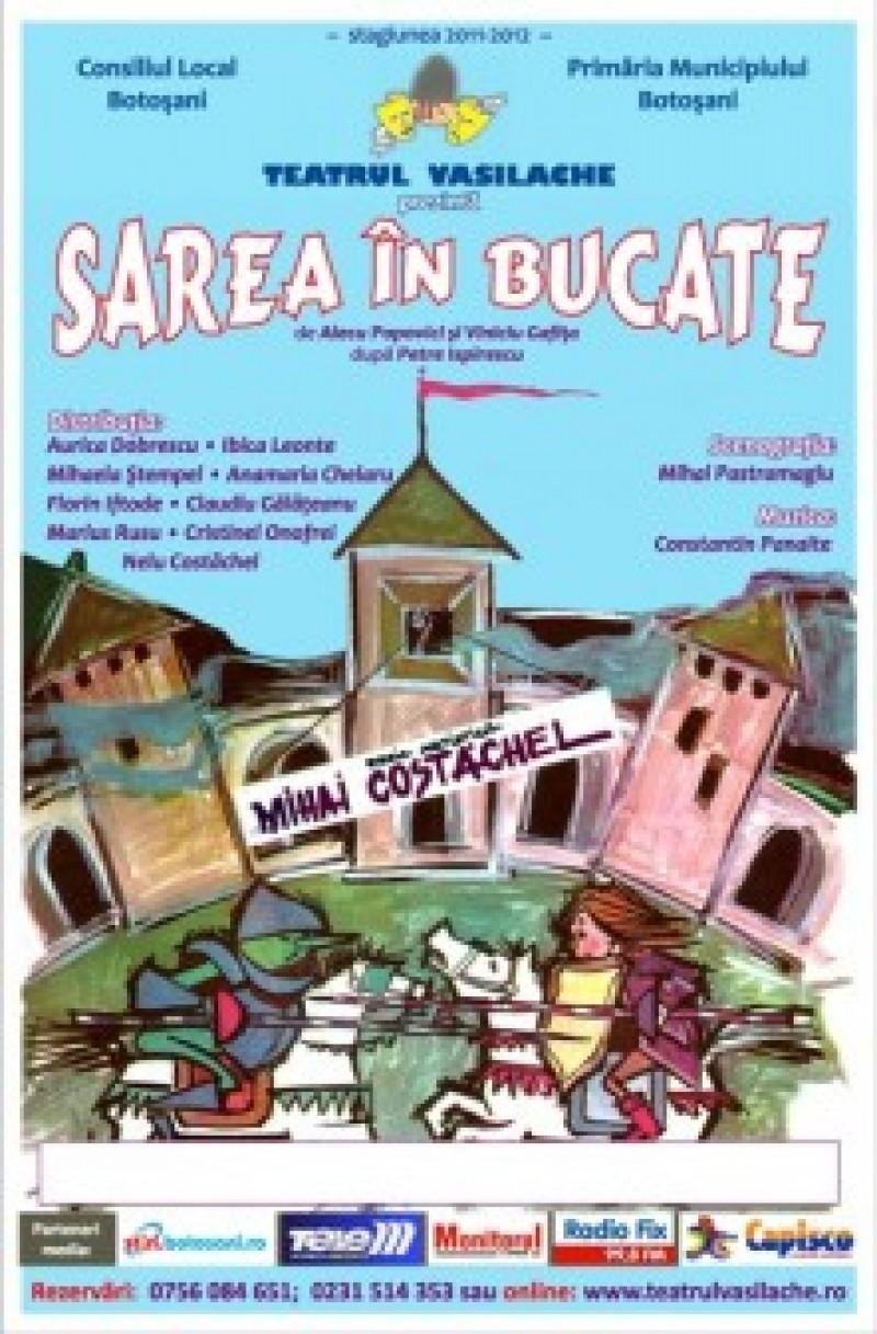 """""""Sarea în bucate"""", în weekend la Teatrul Vasilache"""