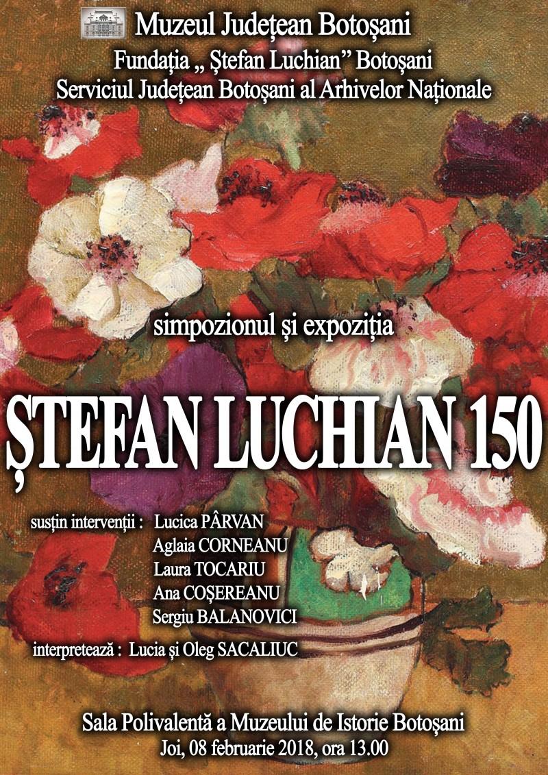 """""""Ștefan Luchian – 150"""", la Muzeul Județean Botoșani!"""
